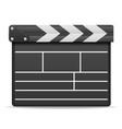movie clapper stock vector image