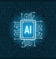 artificial intelligence chip on circuit