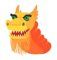 Chinese dragon icon cartoon style vector image