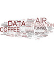 filter word cloud concept vector image