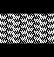 geometric striped background vector image vector image
