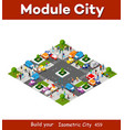 isometric people lifestyle communication in an vector image