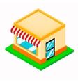 Isometric Shop vector image vector image
