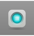 playlist button vector image vector image