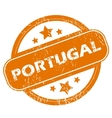 Portugal grunge icon vector image vector image