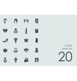 Set of March 8 icons