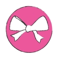 symbol bow icon image design vector image