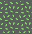texture with leaves green color on dark background vector image vector image