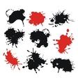 Ink Splats vector image