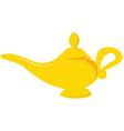 Aladdin lamp vector image