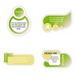 business infografic template presentation vector image vector image