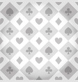 casino pattern background vector image