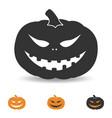 halloween pumpkin for party vector image