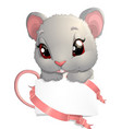 house mouse - vector image
