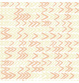 seamless pattern with ikat ribs in beige vector image vector image