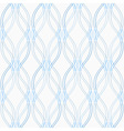 seamless pattern with tangled waves vector image vector image