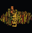 the access legal plan text background word cloud vector image vector image