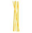 bunch spaghettini flat icon isolated vector image vector image
