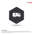 ecology truck icon vector image