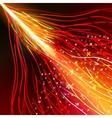 Energy design against dark background EPS 10 vector image