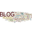 five steps to increase traffic to your blog text