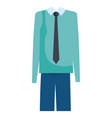 grandfather dress outfit icon vector image vector image