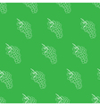 Green and white grape seamless pattern background vector image