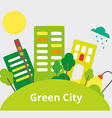GreenCity vector image