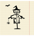 Halloween night symbol for your design vector image