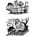 Happy Halloween - set vector image