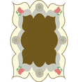 hindu frame vector image vector image