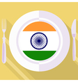 kitchen of India vector image vector image