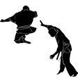 kyokushinkai karate vector image vector image