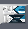 professional business banner in geometric style vector image vector image