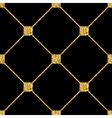 rhombus seamless pattern black 1 vector image vector image