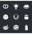 set russian cuisine vector image vector image