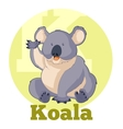 ABC Cartoon Koala vector image vector image