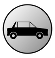 Car button vector image