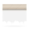 toilet paper 03 vector image vector image