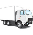 White truck vector | Price: 3 Credits (USD $3)