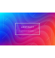 abstract dynamic color background design vector image vector image