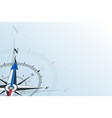 compass north background vector image vector image