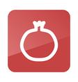 Garnet outline icon Fruit vector image vector image