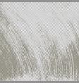 grey grunge halftone background vector image vector image