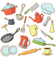 kitchenware vector image
