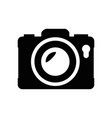 photographic camera symbol vector image vector image