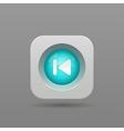 previous button vector image vector image