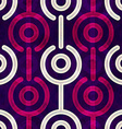 puple circle seamless pattern vector image