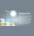 school education study symbol isolated university vector image vector image