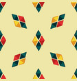 triangle seamless pattern with bright details vector image